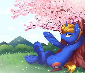 Commission 26 : Spring by Marenlicious