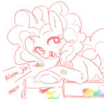 Pinkie doodle.