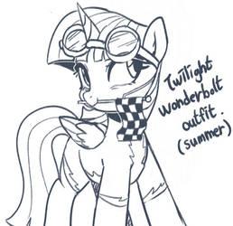 Doodle : Wonderbolt twilight sparkle