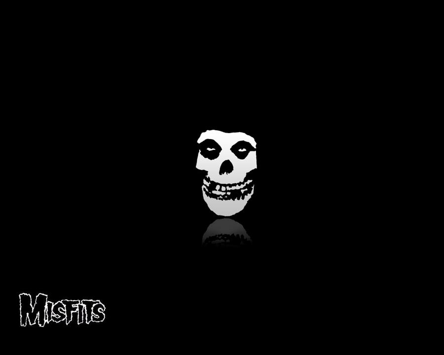 The Misfits Skull Logo Wallpapper Misfits by weeak
