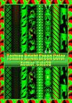 Texture Bright Green Color