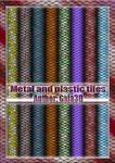 Metal and plastic tiles