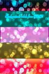 Bokeh backgrounds - color mix