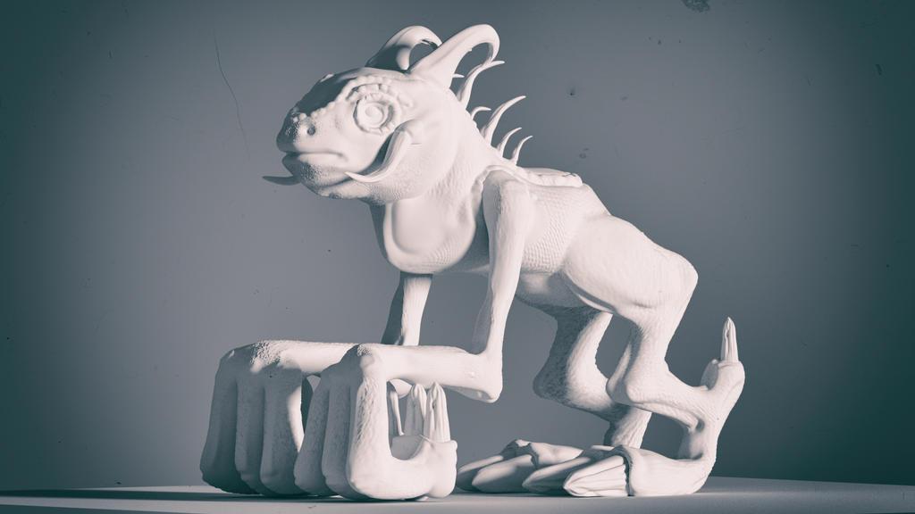 [3D] Monster by filipesims