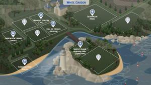 White Garden - Sims 4 Fanmade Map