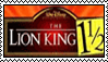 Pro Lion king 1 1/2 stamp by Stormchaser-Lioness