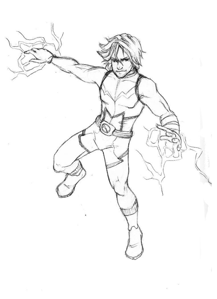 DSC Lightning Lad by Rushstarfire