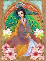 Kemonomimi: Tenshoin Peacock by rinoadangel