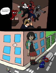 The Sneakiest of Spiders by MicroGamer1