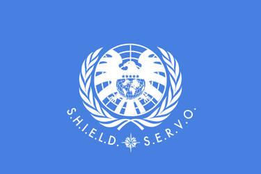 SHIELD UN flag