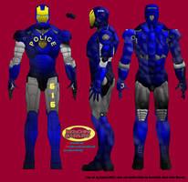 NYPD 'Iron Guard' armor