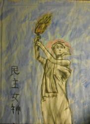 'Goddess of Democracy' by Ranchoth
