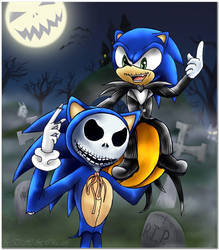 Jack and Sonic by TinakoTH