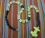 Ash Runic Prayer Beads