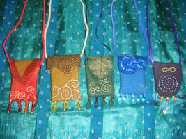 Elemental Amulet Bags by Lolair