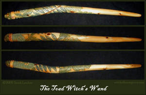 Toad Witch Wand by Lolair
