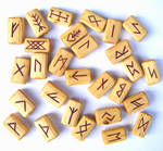 Hazel Futhark Runes