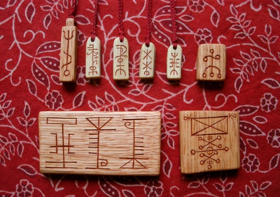 More Icelandic Runestaves by Lolair