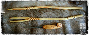 Yew Wands and Cedar Awl