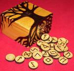 Ash Futhark Runes