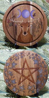 Natural Elements Altar Tile by Lolair