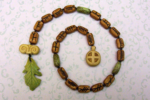 Druid Prayer Beads by Lolair