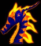 Element Dragon: Ka colored
