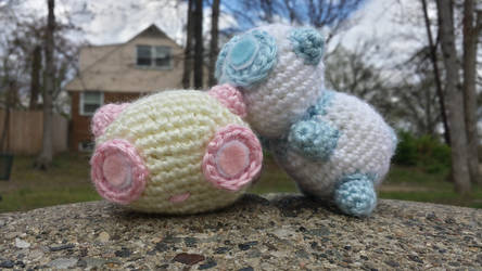 cotton candy pandas
