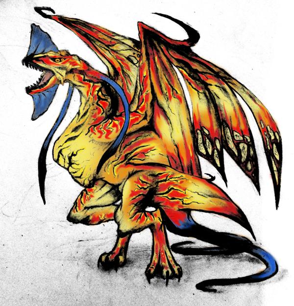 Avatar Dragon: Toruk Color By Reidaemonis On DeviantArt