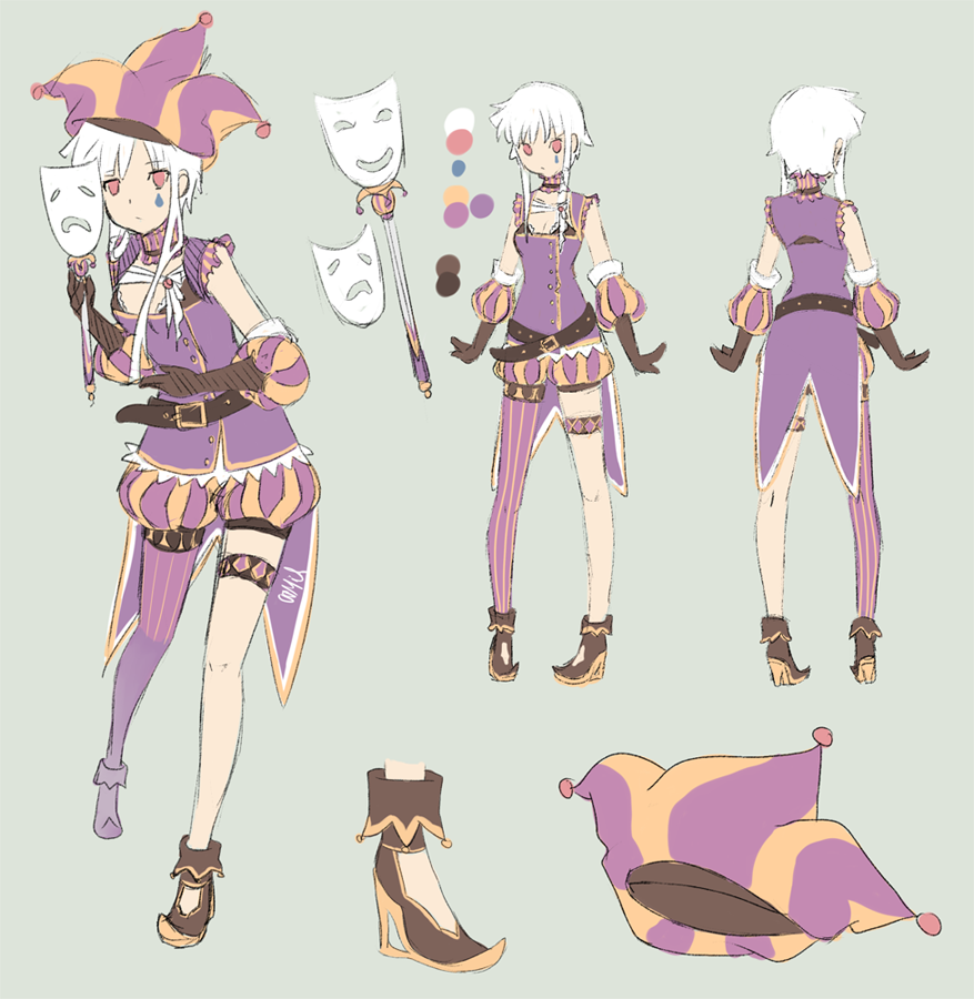 Anime Jester Characters : Jester mascot by dimoo on deviantart