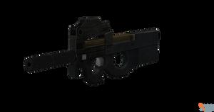 P90 Suppressed
