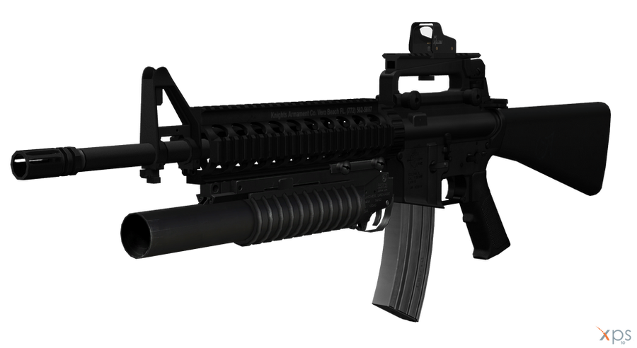 M16A4 with M203 Grenad...