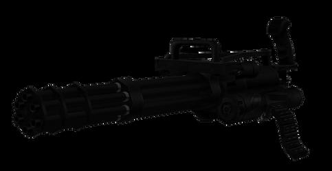 M134 Vulcan Minigun by sadow1213