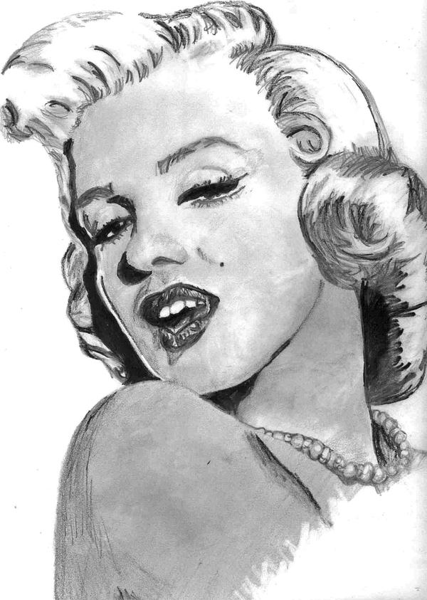 Marilyn Monroe by LifeRider713