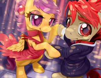 Prom Dance by kagekitsoon