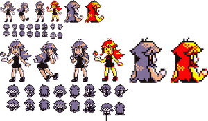 Blue Sprites for R/G/B/Y by Ghost-MissingNo