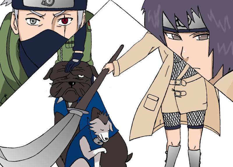 Anko and Kakashi by NarutoSecretHope on DeviantArt