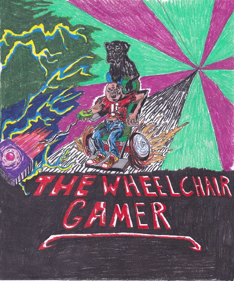 wheelchair gamer logo 1 by dumptruck4lif on deviantart