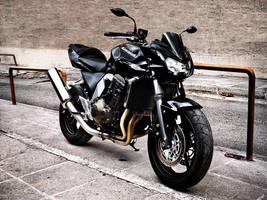 Kawasaki Z750 by astroguy