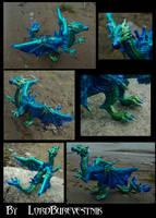 Dragon  Georg 3 commission by LordBurevestnik