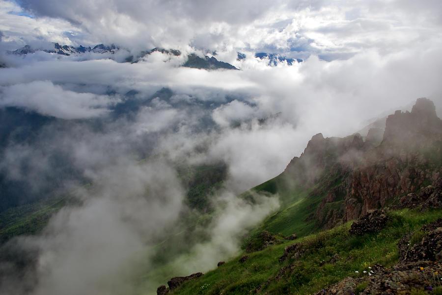 North Caucasus Teberda 2 by LordBurevestnik