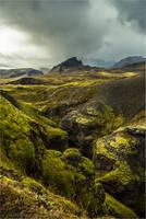 Markarfljotsgljufur canyon by LordBurevestnik