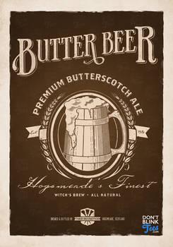 Harry Potter Butterbeer Poster