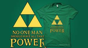 T-Shirt: Triforce Power