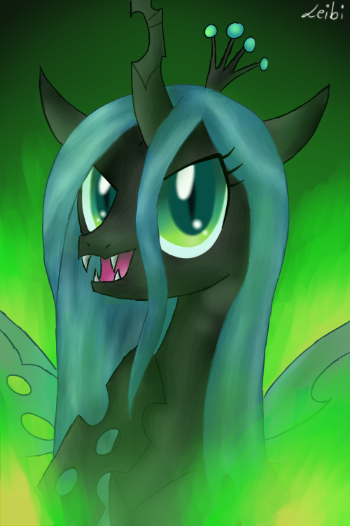 Queen Chrysalis by Leibi97