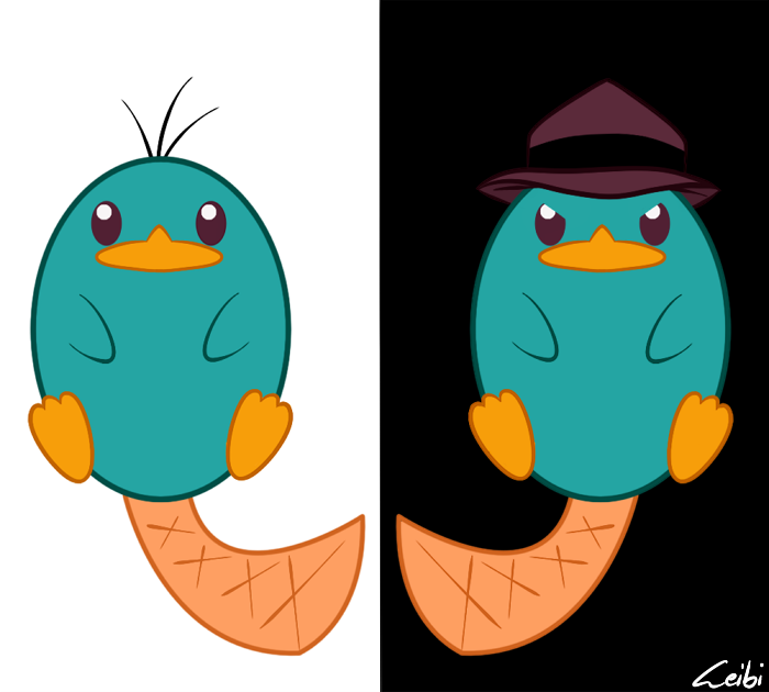 Perry the platypus by leibi97 on deviantart perry the platypus by leibi97 voltagebd Images