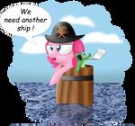 Pinkie Pie don't like barrels