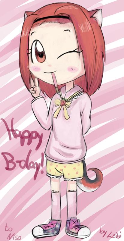 Happy Birthday Niso! by Leibi97