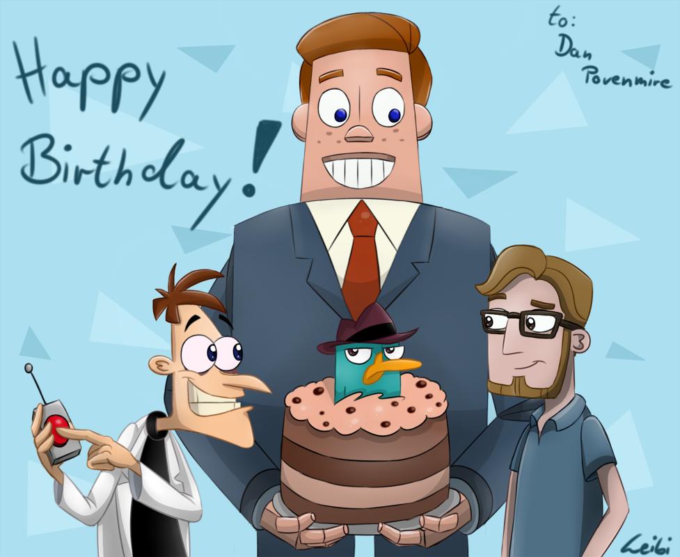 Happy Birthday, Dan! 1/2 by Leibi97