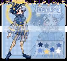 [OPEN] ADOPT AUCTION STAR BOY by ZlayaVlada